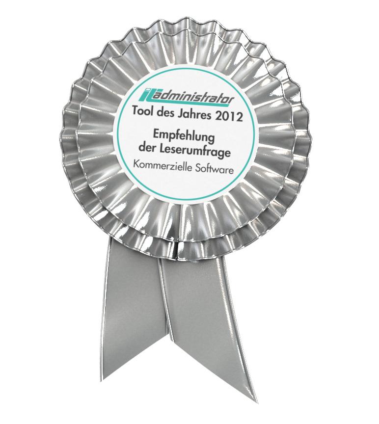 IT-Administrator Wahl zum Tool des Jahres: True Image by Acronis in der Kategorie