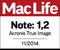 Mac Life zeichnet Acronis True Image für Mac mit der Note 1,2 aus