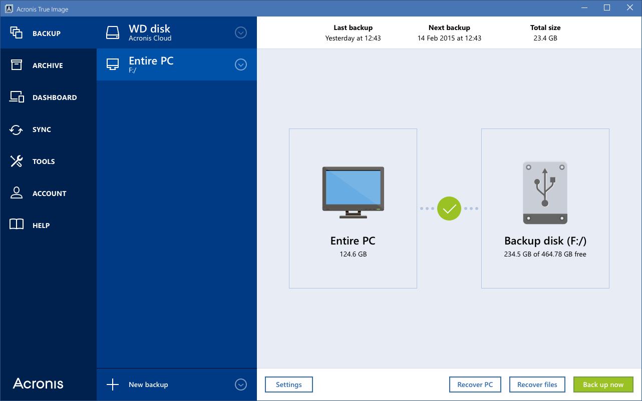 Acronis True Image 2016 – (Windows Apps) — AppAgg